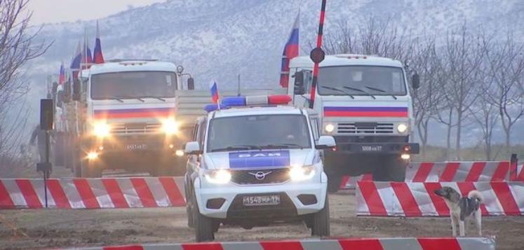 Kəlbəcərə 80 ton humanitar yük çatdırılıb – Rusiya MN