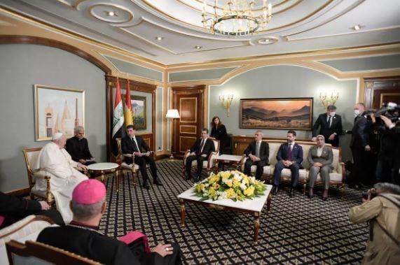 Roma Papası Bərzani ilə görüşdü, terror qurbanları üçün dini ayin keçirdi – FOTO/VİDEO