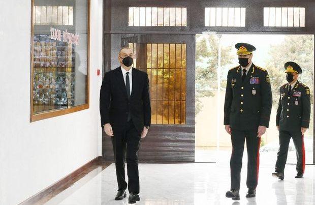 İlham Əliyev yeni hərbi hissənin açılışında – YENİLƏNİB + FOTO/VİDEO