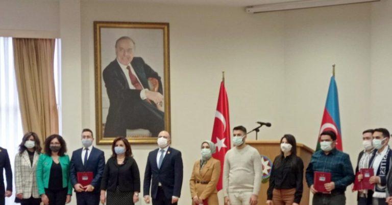 Ankarada məqalə müsabiqəsinin qalibləri mükafatlandırılıb
