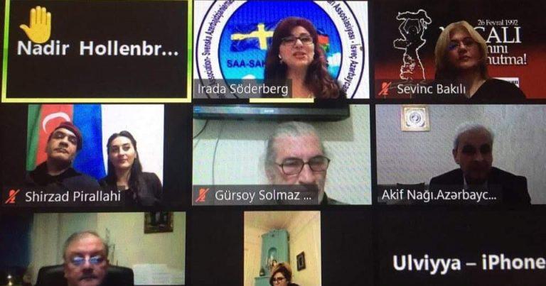 Üç ölkənin Azərbaycanlılarının Koordinasiya Şuralarınıntəşkilatçılığı ilə toplantı keçirilib