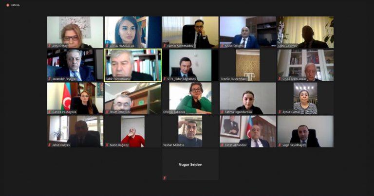 Avropa Azərbaycanlıları Konqresi Xocalı soyqırımı ilə bağlı videokonfrans təşkil edib