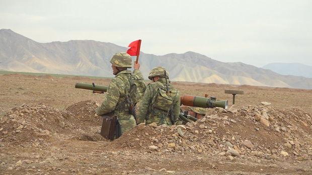 Əlahiddə Ümumqoşun Ordunun tank əleyhinə bölmələrində ixtisas toplantısı keçirilir – VİDEO