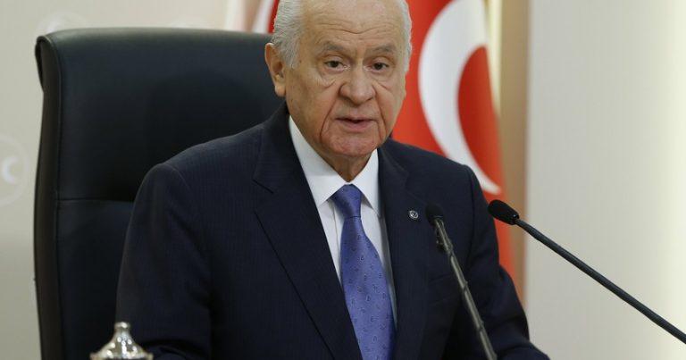 Dövlət Bağçalı yenidən MHP sədri seçilib