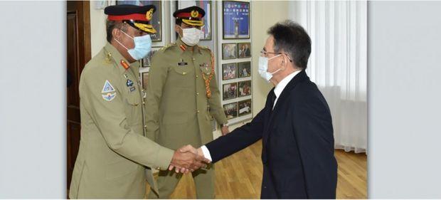 Mədət Quliyev Pakistanın Birləşmiş Qərargah Rəisləri Komitəsi sədrini qəbul etdi