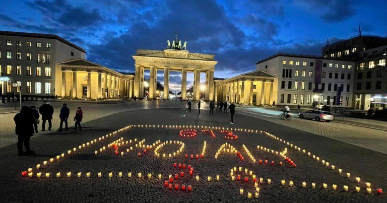 Almaniyada Xocalı soyqırımının 29-cu ildönümü ilə bağlı maraqlı flaşmob təşkil edilib