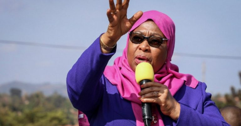 Tanzaniyada ilk dəfə qadın prezident olub