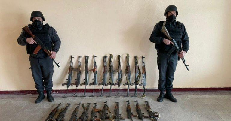 Qubadlı və Cəbrayılda ermənilərin atıb qaçdığı silah-sursat aşkarlandı