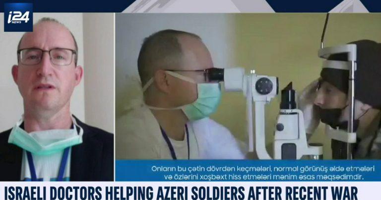 Azərbaycana səfər etmiş oftalmoloq Bakıda mehribanlıqla qarşılandıqlarından danışıb