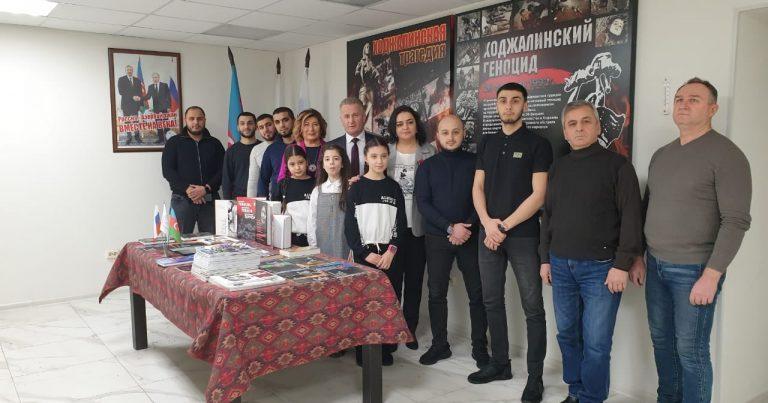 Murmansk şəhərində Xocalı soyqırımı qurbanları yad edilib