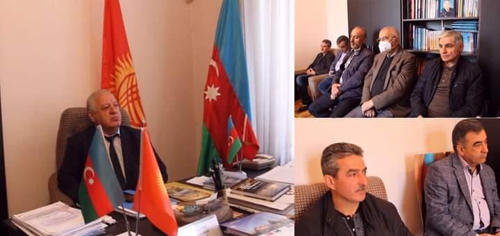 Qırğızıstan azərbaycanlıları Ermənistanın yolverilməz davranışının qarşısının alınmasına çağırış edib