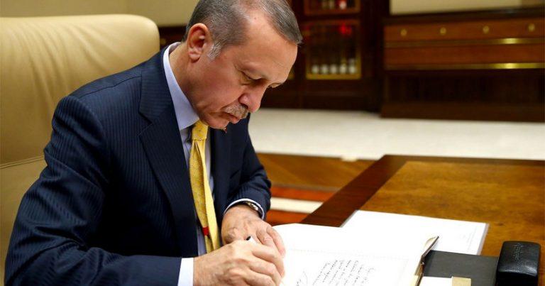 Ərdoğan Türkiyə ilə Azərbaycan arasında imzalanan daha bir sazişi təsdiqlədi