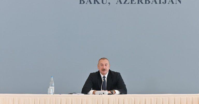 """Müharibədən sonrakı vəziyyət çox kövrəkdir"""" –Prezident"""