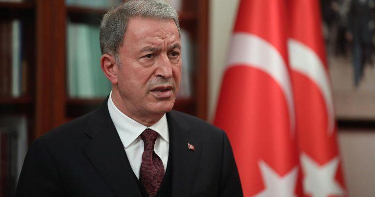 """Hulusi Akar: """"Türk ordusu Azərbaycanda dost və qardaşlarımızın haqqını qoruyur"""""""