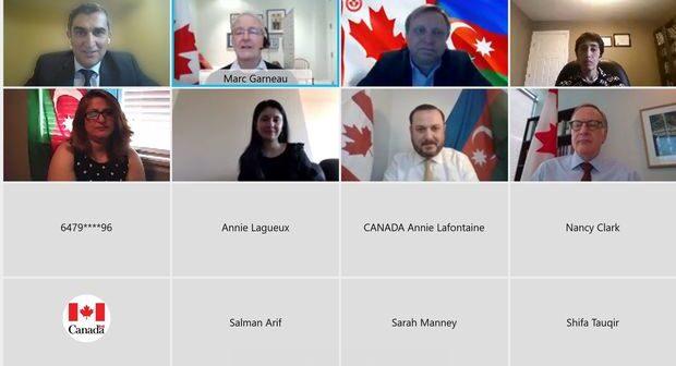 Kanada XİN rəhbəri ölkədəki Azərbaycan diasporu ilə görüşüb – FOTO