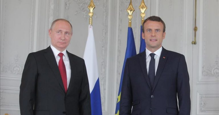 Putin və Makron Qarabağı müzakirə ediblər