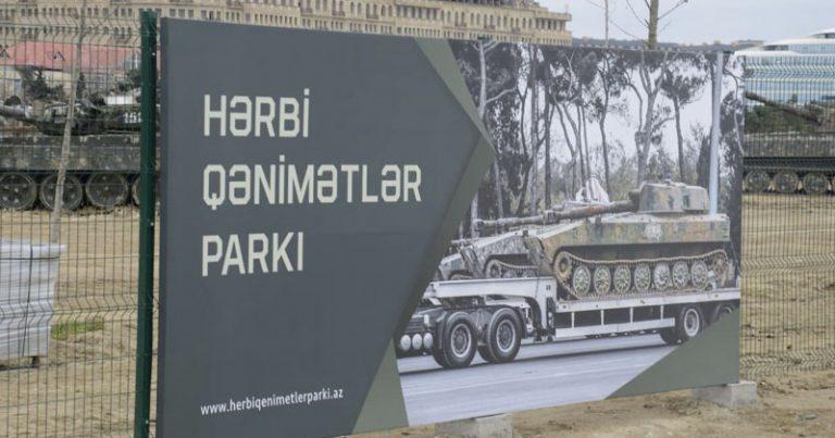 Hərbi Qənimətlər Parkına gedənlərə xəbərdarlıq (VİDEO)