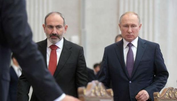 Putinlə Paşinyanın müzakirə edəcəyi mövzular AÇIQLANDI