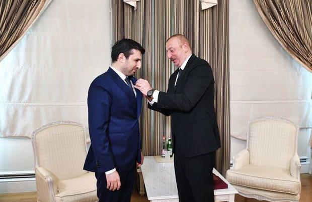 İlham Əliyev Selçuk Bayraktarı yüksək şəkildə təltif etdi – FOTO