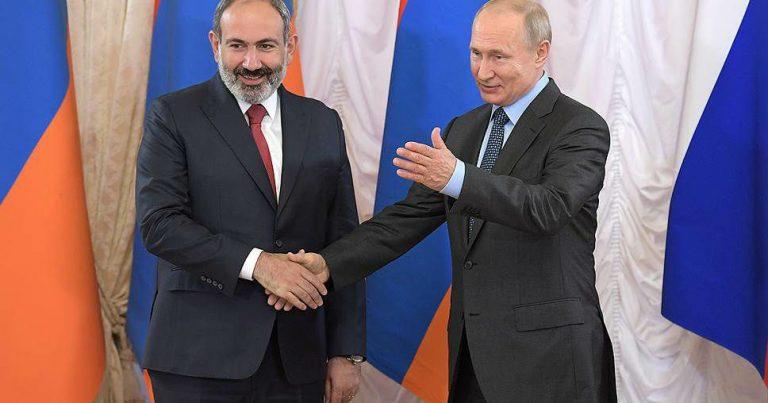 Paşinyan Moskvada Putinlə görüşəcək