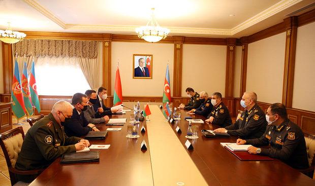 Azərbaycan ilə Belarus arasında hərbi-texniki əməkdaşlıq məsələləri müzakirə olundu