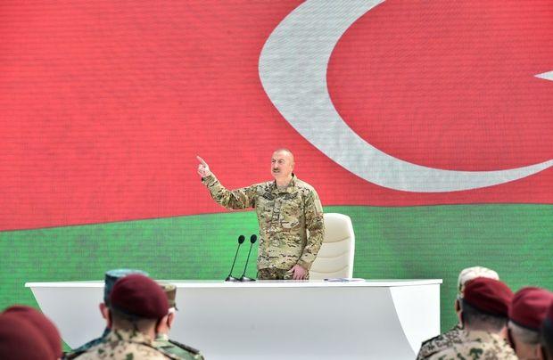 """Prezident: """"Bəzi xarici paytaxtlarda qərar verildi ki, İlham Əliyevi devirməliyik"""""""