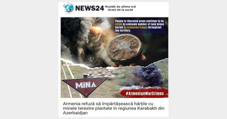 Rumıniya mediası Ermənistanın destruktiv davranışından bəhs edib