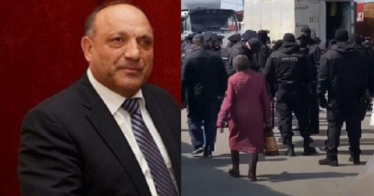 Rusiyada Azərbaycanlı iş adamının  bazarlarına ordu yeridildi, yüzlərlə saxlanılan var – VİDEO