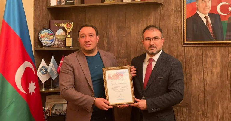 Gənclər təşkilatında Türkiyə nümayəndə heyyəti ilə görüş keçirilib