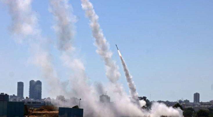 İsrailin 6 bazasına hücum edildi