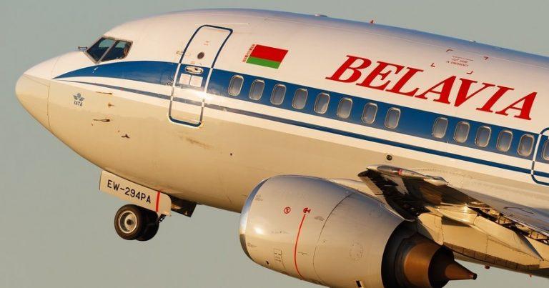 Fransa öz hava məkanını Belarus təyyarələri üçün bağladı
