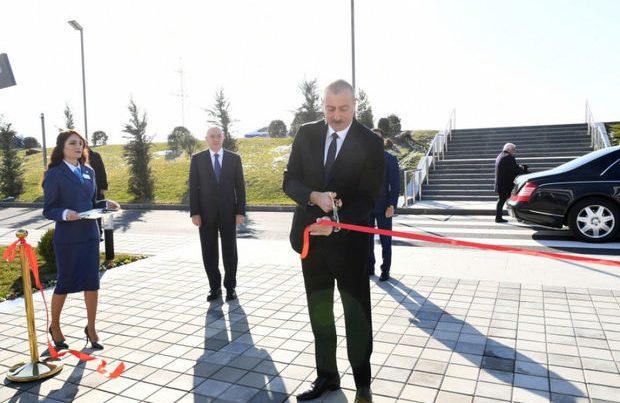 Naxçıvan Qarnizonu Mərkəzi Hospitalının açılışı olub