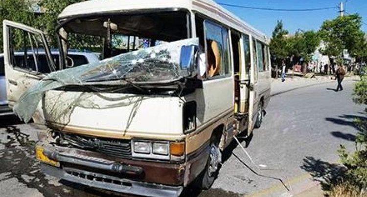 Əfqanıstanda həkimləri daşıyan avtobus partladılıb, ölən və yaralananlar var