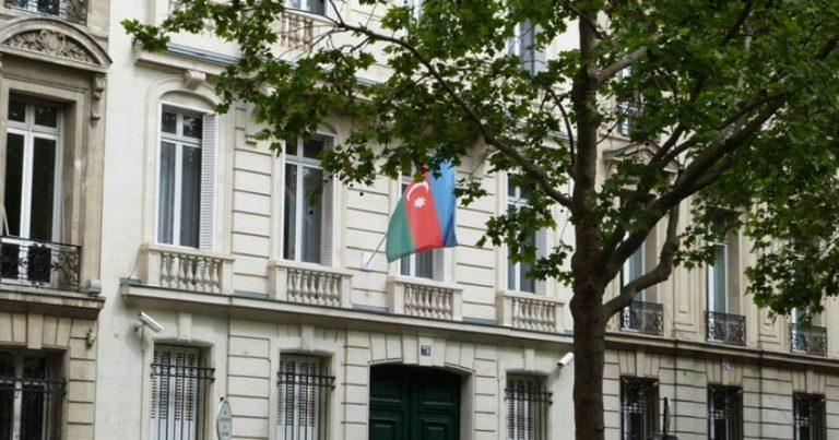 Azərbaycan səfirliyi Fransa hökumətinə çağırış edib