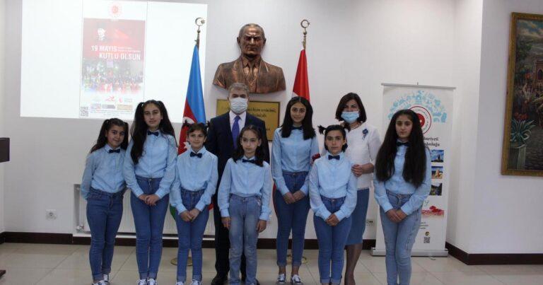 Gəncədə Atatürkün anadan olmasının 102-ci ildönümü qeyd edildi –FOTOLAR
