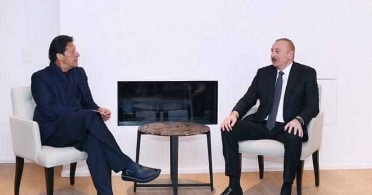 Pakistanın Baş naziri Azərbaycan Prezidentini təbrik edib