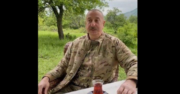 """Prezident """"Xarıbülbül"""" musiqi festivalında iştirak etmək üçün Şuşaya yola düşüb – VİDEO"""