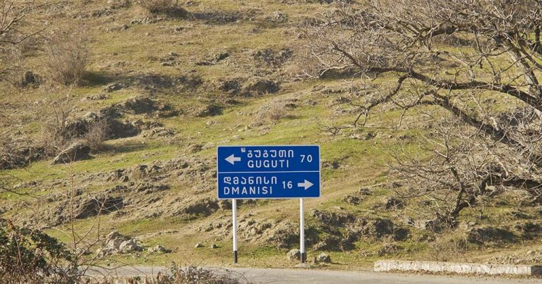 Dmanisidə azərbaycanlılar aksiya keçirirlər