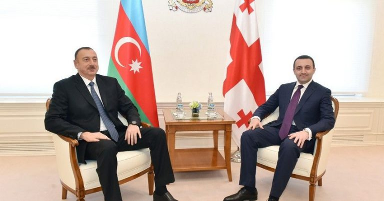 Azərbaycan Prezidenti Gürcüstanın Baş nazirini qəbul etdi