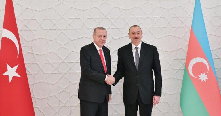 Ərdoğan Azərbaycan Prezidentinə məktub göndərib