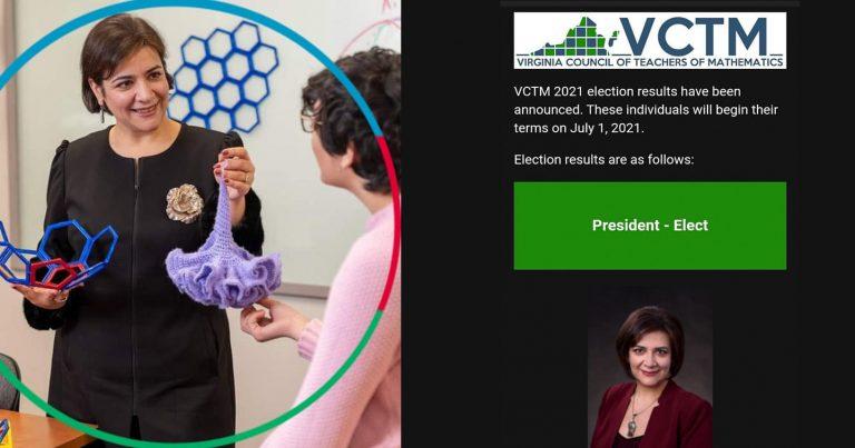 Soydaşımız Virciniya ştatının riyaziyyat müəllimləri şurasının prezidenti seçilib
