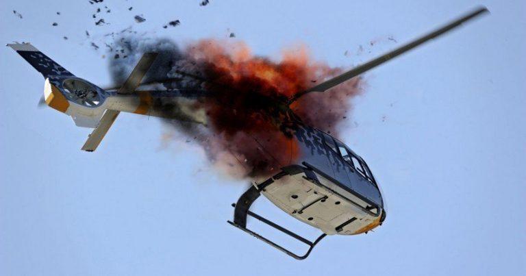 Çində helikopter qəzasında 4 nəfər ölüb