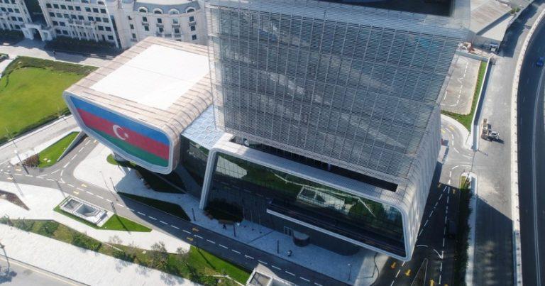 İqtisadiyyat Nazirliyinin yeni inzibati binasında 772 nəfər işləyə biləcək
