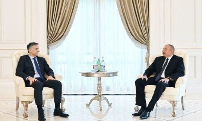 """İlham Əliyev """"Signify"""" şirkətinin baş icraçı direktorunu qəbul etdi – YENİLƏNİB"""
