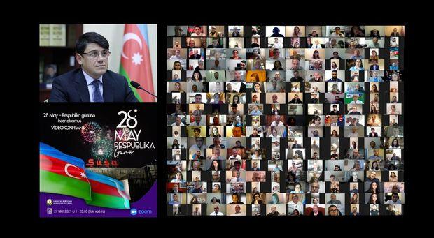 Dünya azərbaycanlıları Respublika Günündə bir araya gəlib
