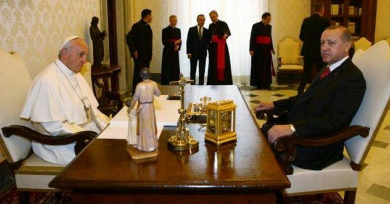 Ərdoğanla Roma Papası arasında telefon danışığı olub