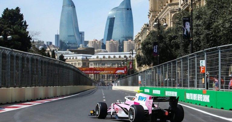 """Bakıda """"Formula 2"""" yarışına start verildi"""