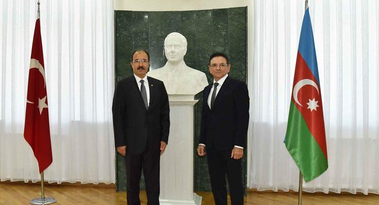 Mədət Quliyev yeni səfiri qəbul etdi