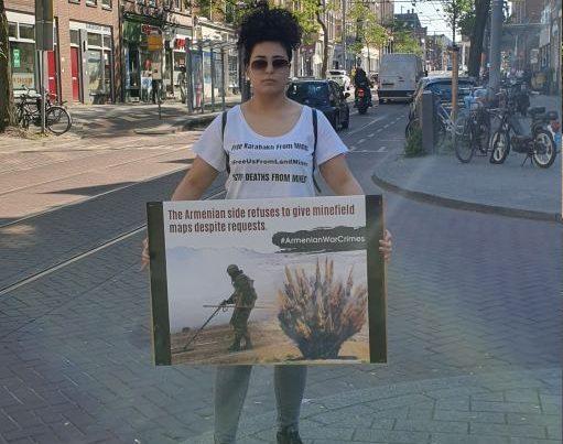 Niderlandda Ermənistana qarşı etiraz aksiyası keçirilib – FOTO