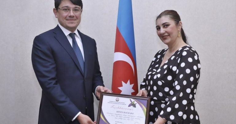 Fuad Muradov Azərbaycan-Küveyt Mədəniyyət və Dostluq Cəmiyyətinin sədri ilə görüşüb